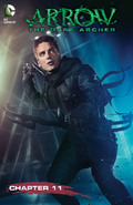 Arrow The Dark Archer chapter 11 digital cover