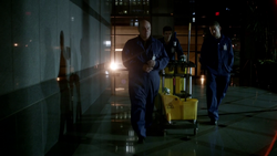 Barry helps Lewis and Leonard Snart