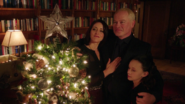 Darhk family at Christmas