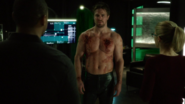 Oliver tells Diggle and Felicity that he's done with his crusade