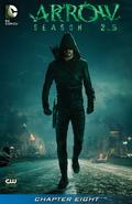 Arrow Season 2.5 chapter 8 digital cover