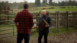 Lex confronts Earth-167's Clark