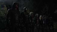 Team Arrow ready to fight Lian Yu ghosts