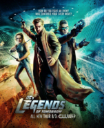 DC's Legends of Tomorrow season 1 poster - How Do You Fight An Enemy Who Controls Your Every Move
