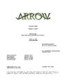Arrow script title page - Human Target.png