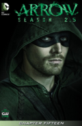 Arrow Season 2.5 chapter 15 digital cover