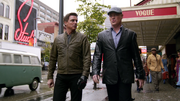 Damien Darhk and Malcolm Merlyn in Los Angeles