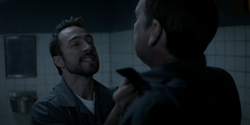 Dodgson attacks Jacob in Blackgate