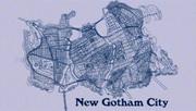 New Gotham City map
