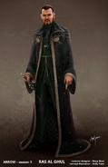 Ra's al Ghul concept artwork