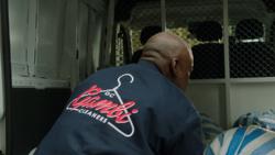 Gambi Cleaners employee uniform