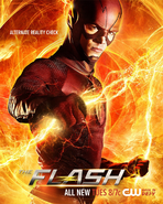 The Flash season 2 poster - Alternate Reality Check
