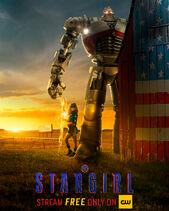 S1 Stargirl-Stripe Poster
