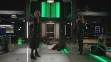 Black Canary and Black Siren prepare to fight again