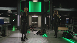 Black Canary and Black Siren prepare to fight again