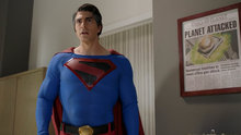 Superman (Earth-96) recruited by Clark (Earth-38)