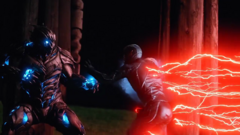 Black Flash speeds at Savitar