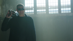 Legion Leonard Snart reveals himself to the Legends in 1916