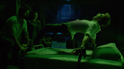 Anne Marie banishing the demon Pazuzu from Constantine