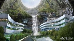 Underground sanctuary concept v20
