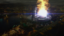 S.T.A.R. Labs particle accelerator exploding