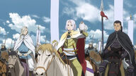 Arslan with Narsus and Daryun