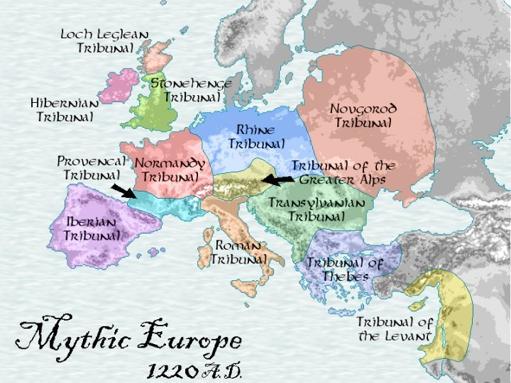 Map Of Mythic Europe Ars Magica Wiki Fandom Powered By Wikia