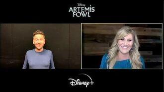 Kenneth Branagh's Nephews Introduce Him to Artemis Fowl