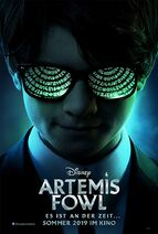Artemis Fowl German Poster