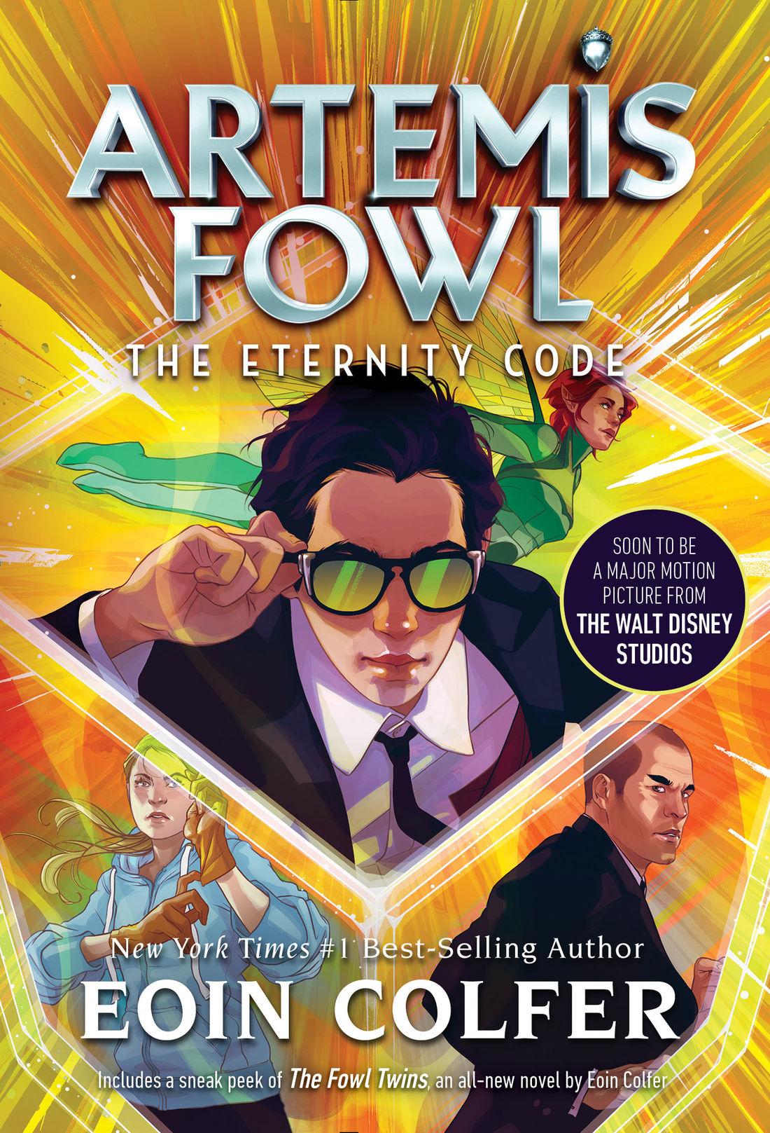 Artemis Fowl And The Eternity Code Novel Artemis Fowl Fandom
