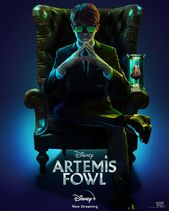 Artemis Fowl Streaming Poster