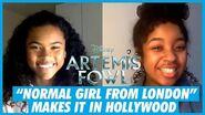 """Just a Normal Girl From London"" - Tamara Smart Artemis Fowl Interivew"