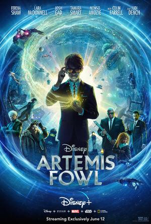 Artemis Fowl Disney+ Poster