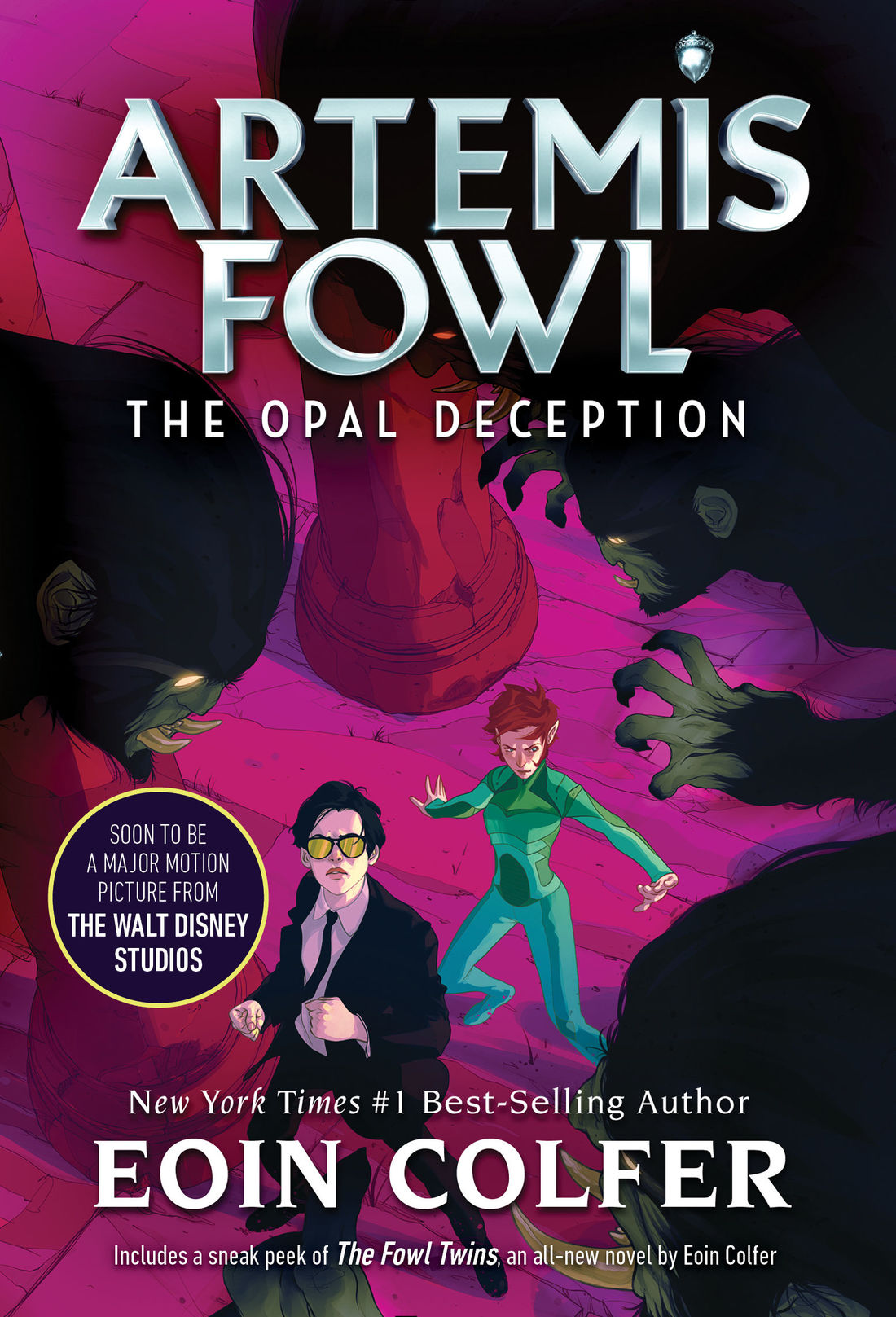 Artemis Fowl And The Opal Deception Novel Artemis Fowl Fandom