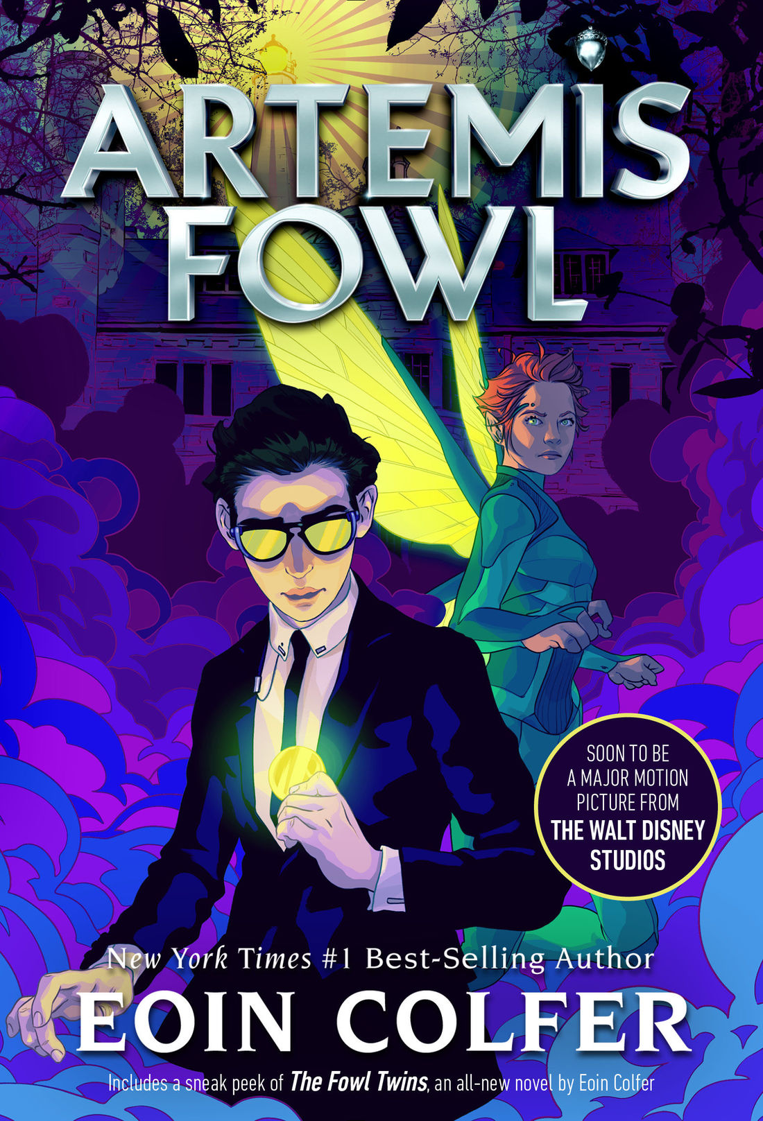 Artemis Fowl Novel Artemis Fowl Fandom Powered By Wikia