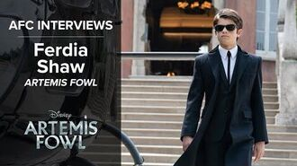 Ferdia Shaw - ARTEMIS FOWL II AFC Interviews