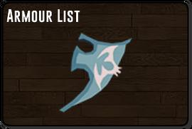 Armour list