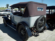 Fiat 501 Tourer 1924 rear