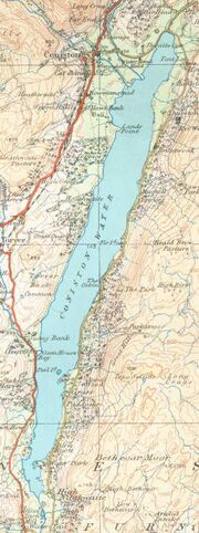 Coniston Watermap