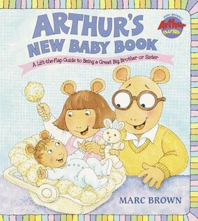 Arthur's New Baby Book Cover