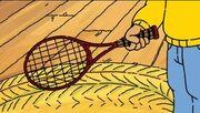 AllAboutDW - Arthur's tennis racquet