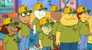 Carl and baseball team