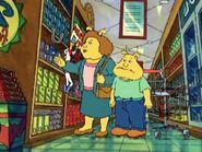 Binky & his mom gone shopping