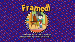 Framed! Title Card