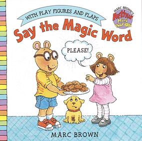 Say the Magic Word Book