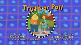 Truth or Poll Title Card