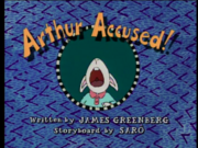 Arthur Accused! Title Card