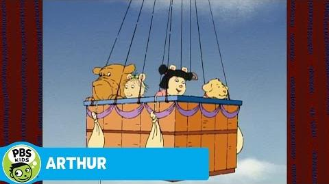 ARTHUR Hot Air Balloon Ride!
