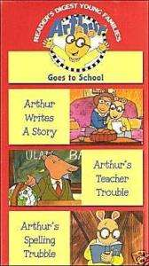 127316665 arthur-goes-to-school-1996-vhs-readers-digest-vg-ebay
