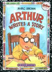 Arthur Writes a Story Book Cover
